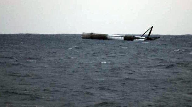 """""""Удивительно, но она выжила"""": Маск показал упавшую в океан ракету"""