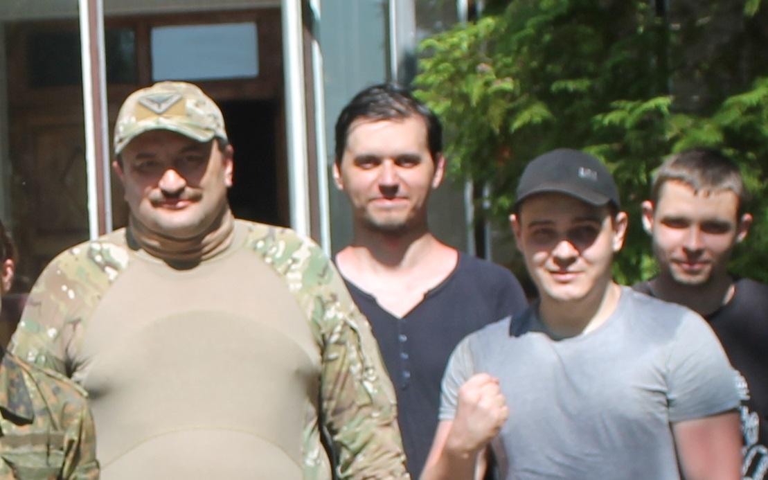 Андрей Таранов во время подготовки ВСУ
