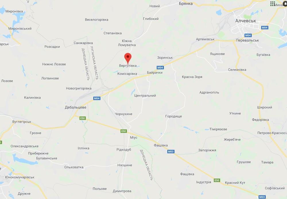 Под Вергулевкой взорвался снаряд боевиков: осколки попали в село