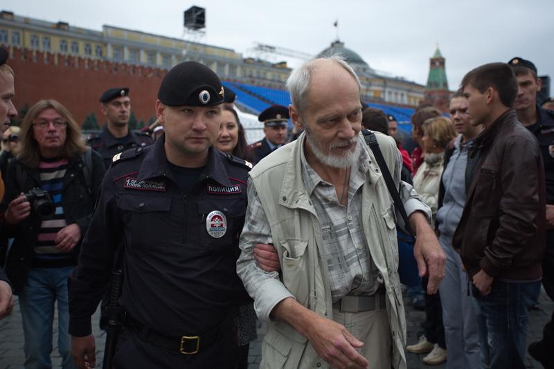 В Москве отпустили участников акции памяти демонстрации 1968 года