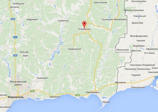В районе Тельманово боевики усиливают тактическую группу - Тымчук