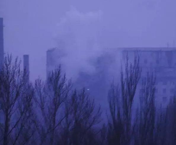 В Макеевке в районе шахты Ленина прозвучал мощный взрыв