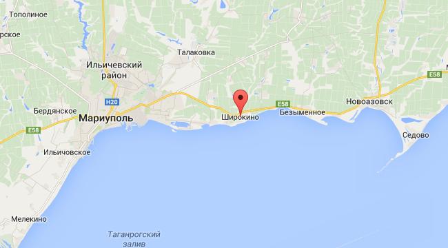 Украинские силовики контратакуют возле Широкино - Совбез