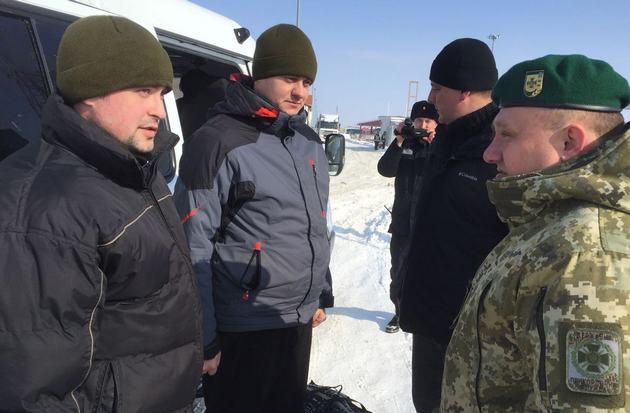 Россия вернула Украине захваченных в прошлом году пограничников