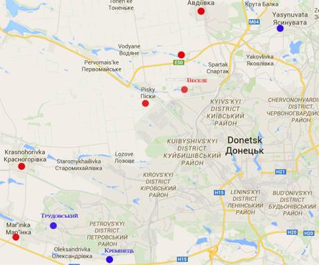 Как боевики перевозили в Донецке запрещенное оружие: видео