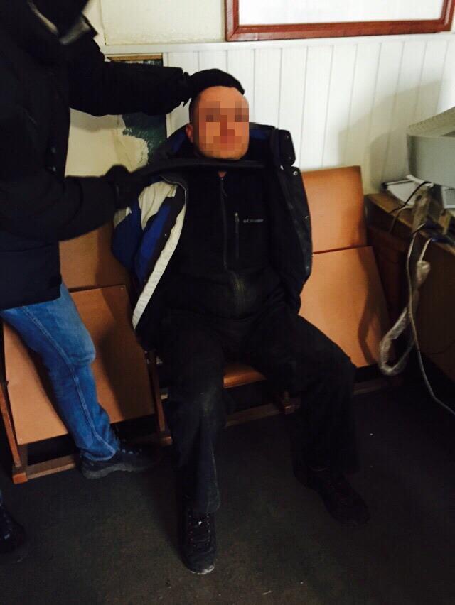 В Киевской области СБУ задержала начальника горотдела милиции