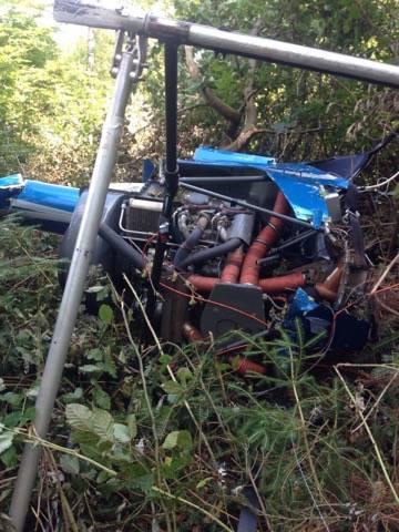 Возле Буковеля разбился частный вертолет, есть жертвы: фото