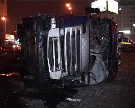 Авария на Харьковской площади в Киеве: есть погибшие (обновлено)