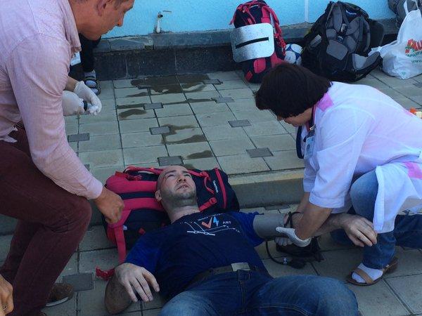 В Анапі козаки напали на Навального і його соратників: відео