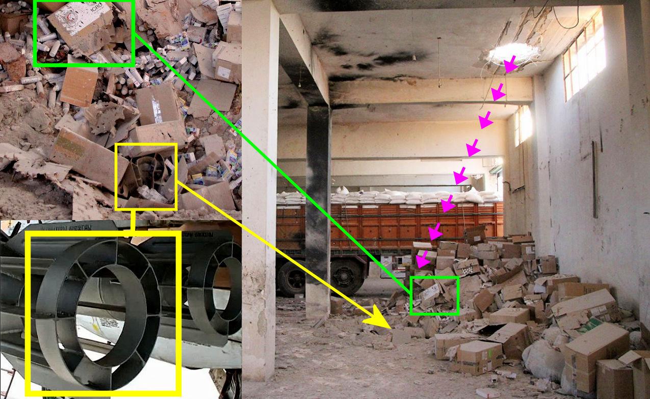 Специалисты доказали, что гумконвой ООН вСирии бомбили российскими авиабомбами