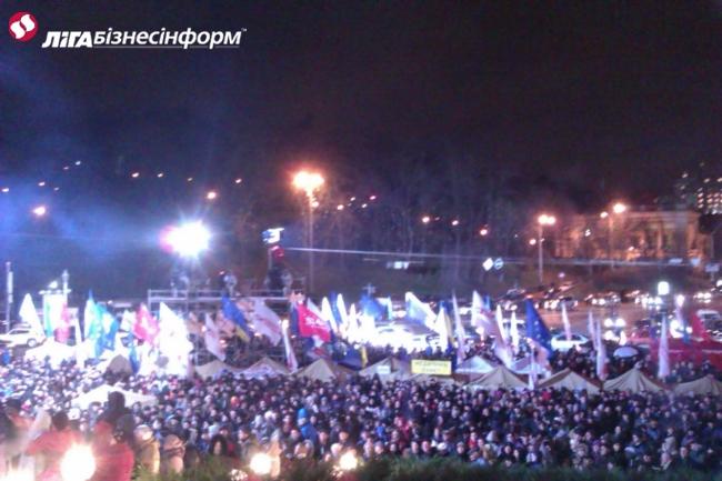 Евромайдан в Киеве, день шестой: хроника