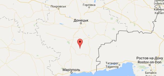 Под Старогнатовкой боевики применили бронетехнику: карта АТО