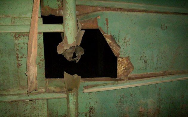 Впроцессе обстрела Талаковки боевики уничтожили тракторы и фургоны