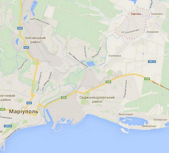 Окрестности Мариуполя ночью обстреливали из минометов - Азов