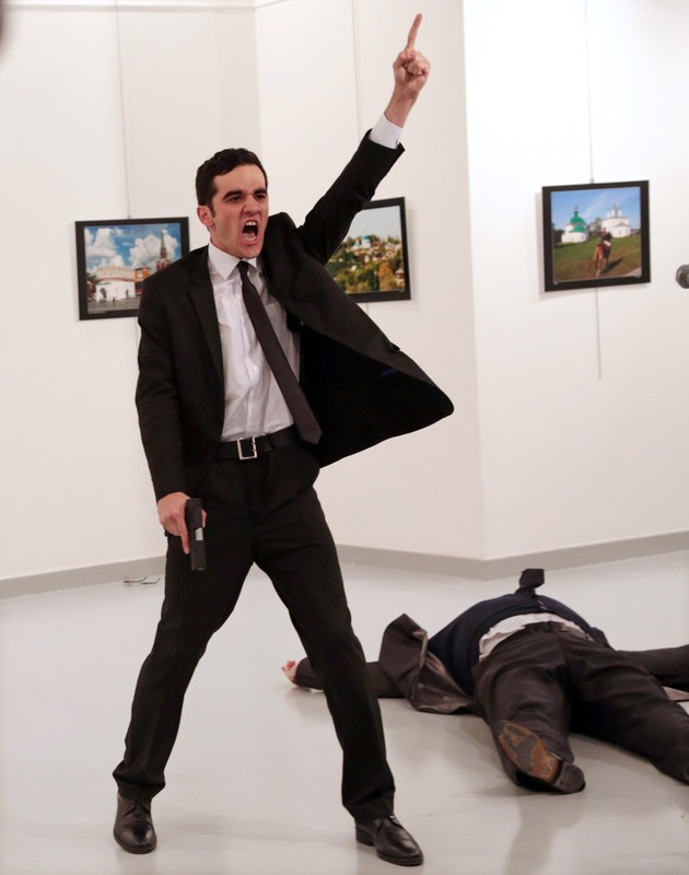 Фото убийства посла РФ в Турции получило премию World Press Photo