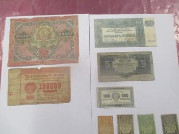 Житель Беларуси хотел вывезти из Украины антикварные деньги: фото