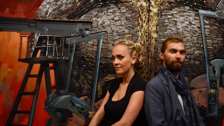 Лицо войны: в галерее Нью-Йорка появился портрет Путина из гильз