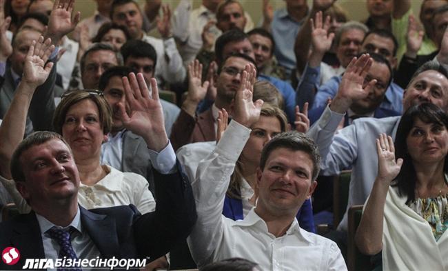 Второй фронт. Репортаж со съезда партии Яценюка-Турчинова