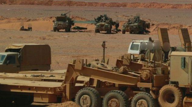 Размещены первые фото английского спецназа вСирии