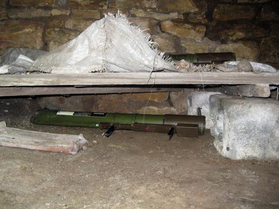 В доме гранатометчика-мстителя из Триполья нашли арсенал оружия
