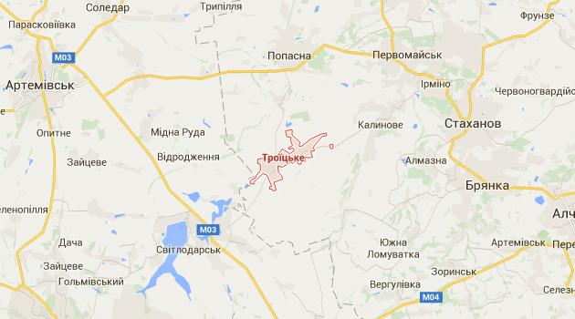 Боевики за день трижды применили Грады на Луганщине - штаб АТО