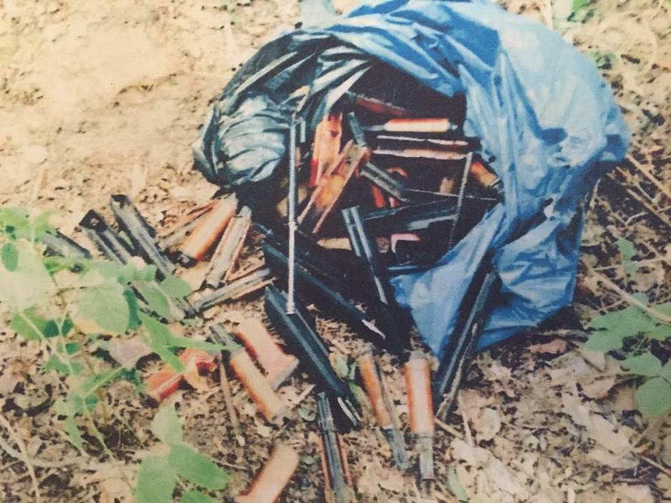 Луценко показал фото винтовки, из которой расстреливали Майдан