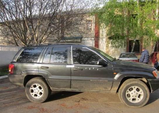 ВКиевской области угнали две машины— Ограбление смачете