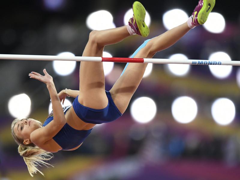 Юлия Левченко взяла серебро чемпионата мира по легкой атлетике