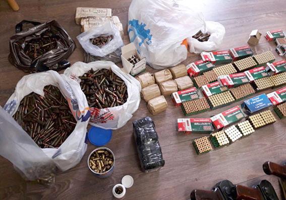 В доме жителя Хмельницкой области нашли арсенал оружия: фото