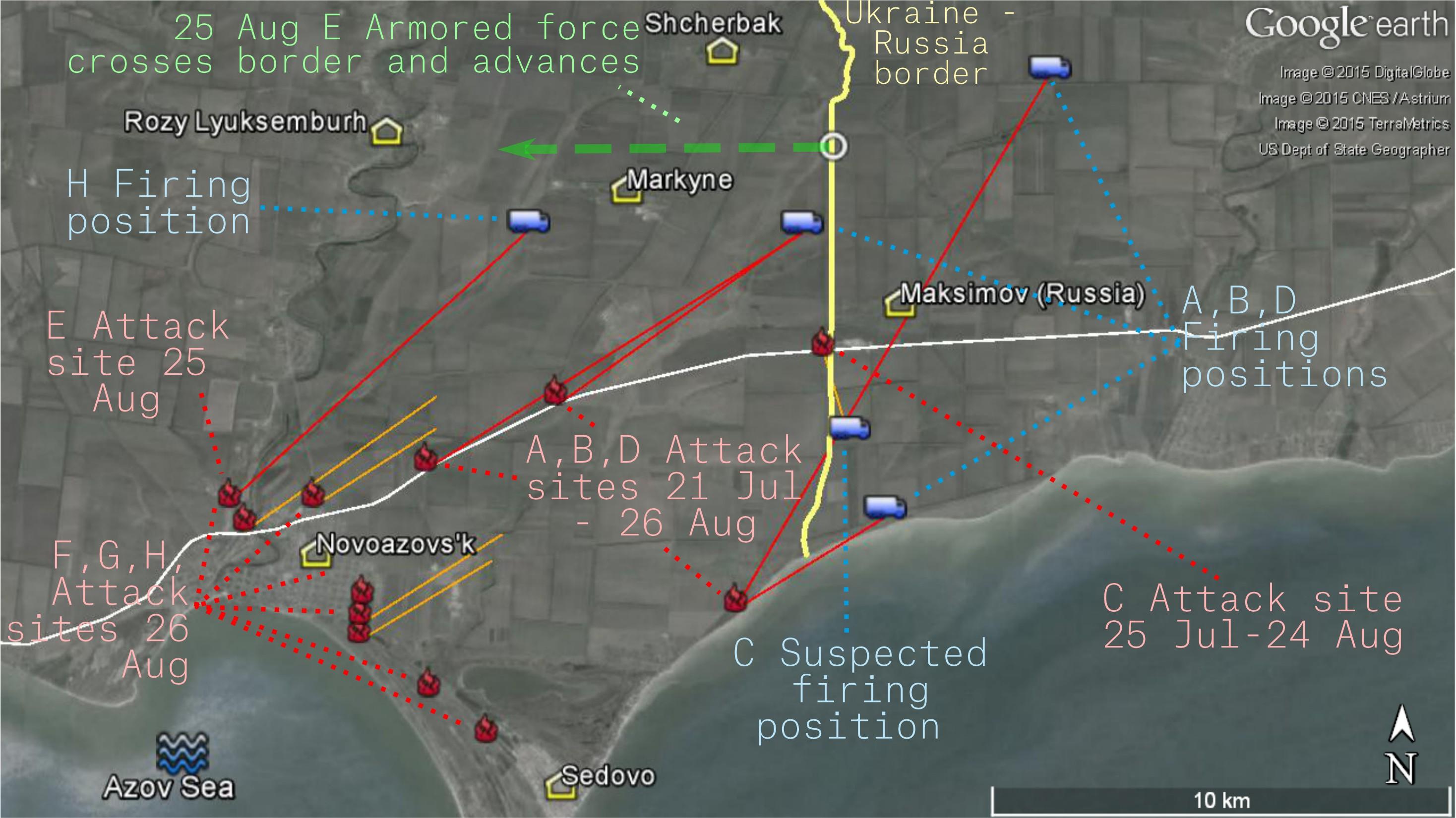 Опубликованы доказательства участия РФ в наступлении на Мариуполь