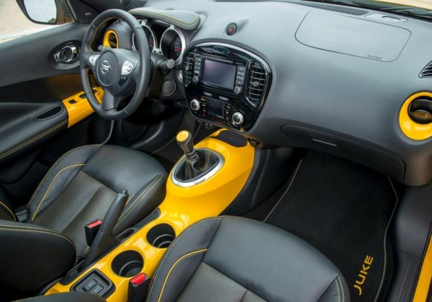 Nissan Juke назван лучшим компактным кроссовером в Украине