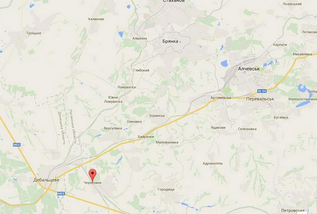 Силы АТО отбили две атаки в районе Чернухино - Тымчук