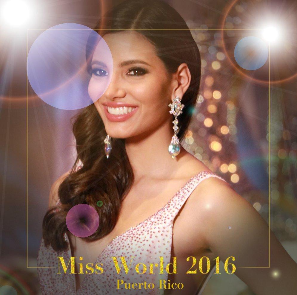 Стала известна «Мисс мира— 2016»