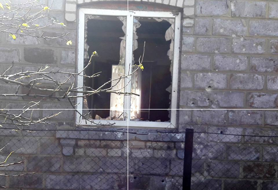 Боевики из танков обстреляли Красногоровку со стороны Донецка