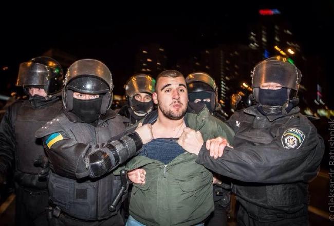 Столкновениями закончилась попытка помешать застройке в Киеве