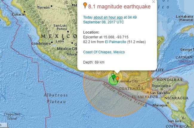 У Мексиці стався найсильніший за 32 роки землетрус: відео