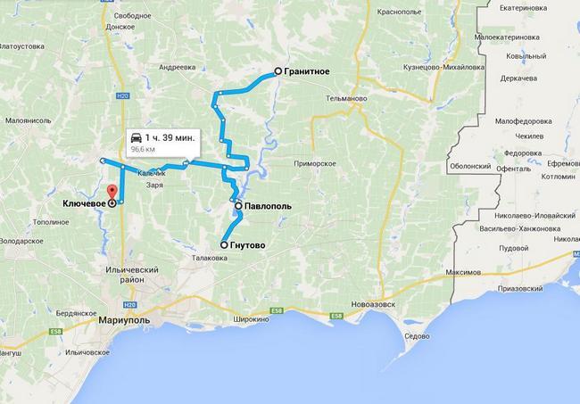 Диверсанты активизировались в районе трассы Мариуполь-Донецк - ИС