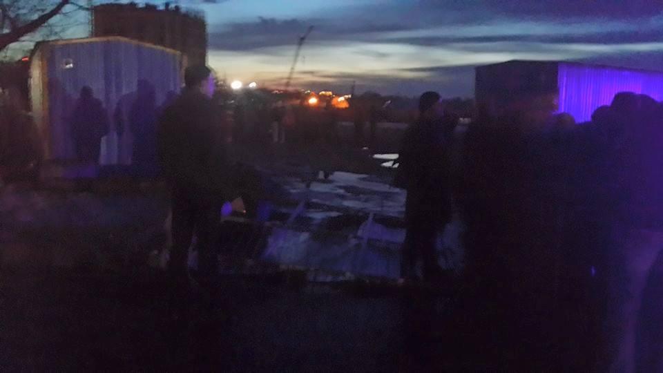 В Днепровском районе Киева на месте застройки произошла стрельба