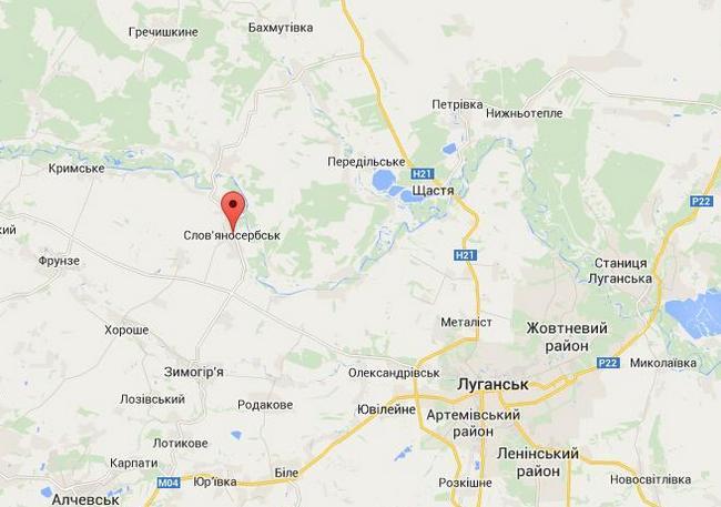 Россияне окружили блокпост Нацгвардии в районе Славяносербска