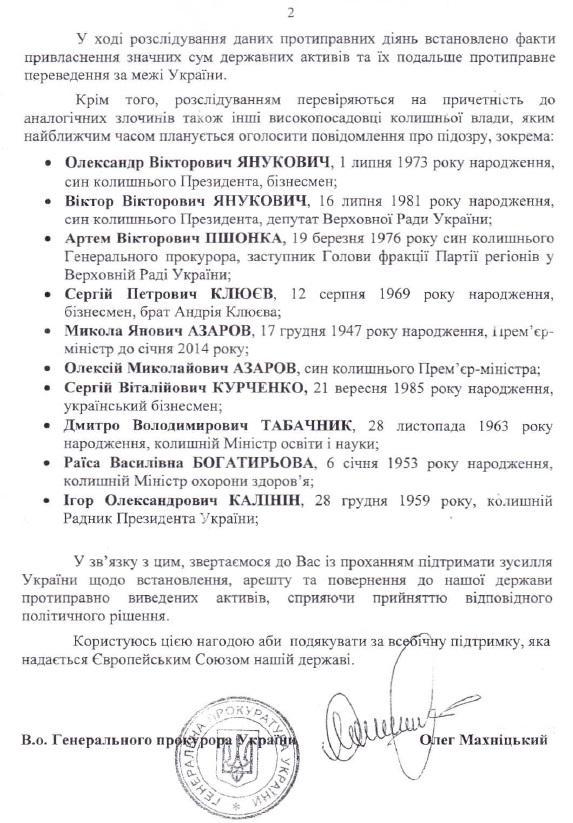 Фирташ и Левочкин избежали санкций благодаря Махницкому - депутат