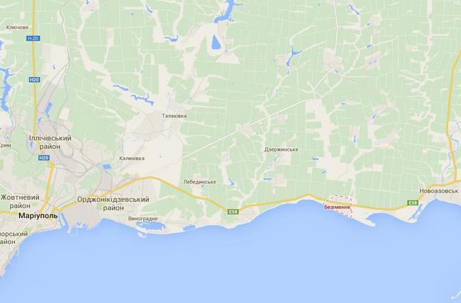 Артиллерия РФ обстреляла силы АТО в 30 км от Мариуполя - штаб