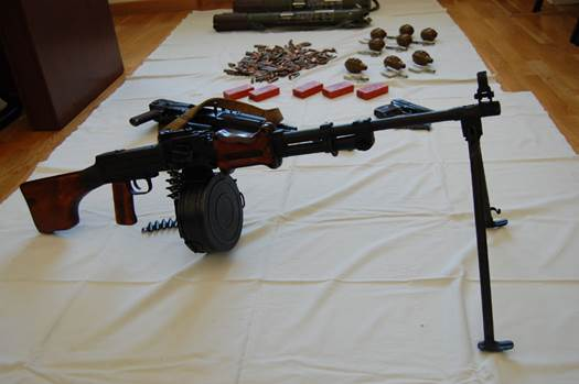 В Чернигове СБУ раскрыла схему поставок оружия из зоны АТО: видео