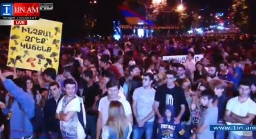 Тарифный Майдан в Армении: обновляется