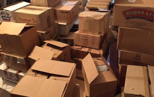 СБУ задержала группу людей, которая нелегально поставляла продукты в«ЛНР»