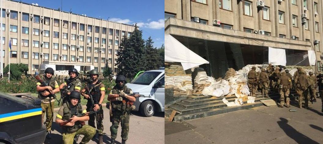 Куда бегут боевики: как освобождали Славянск и Краматорск