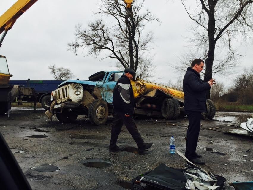 Опубликованы фото с места ДТП, в котором погиб Кузьма Скрябин