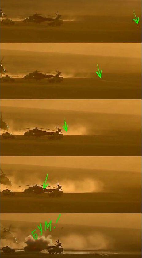 У Сирії збили черговий російський вертоліт: відео