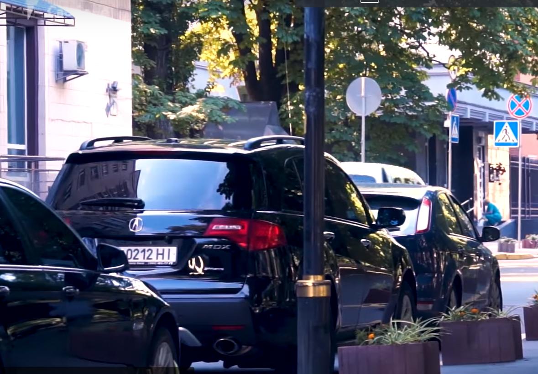 Кортеж Луценко словили  на несоблюдении  ПДД