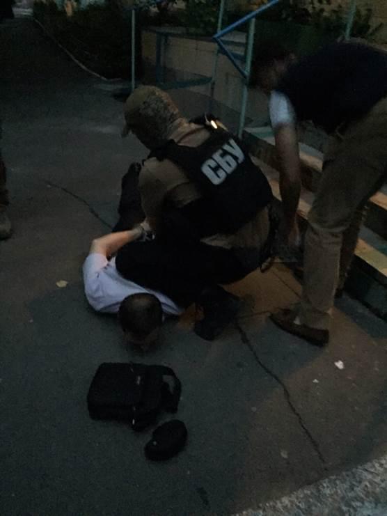 Замруководителя отдела милиции на Подоле задержан за взятку - СБУ