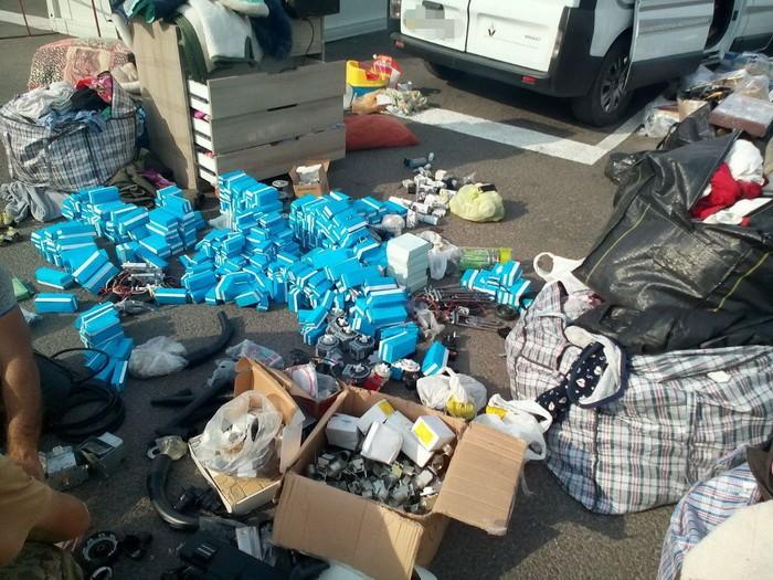 Незаконные грузы на 1,5 млн грн задержала СБУ в районе АТО: фото